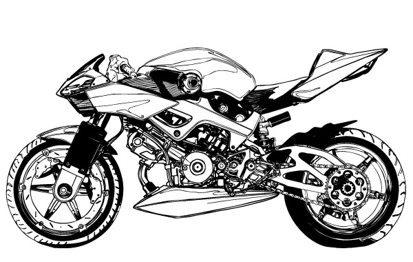 Free Download Of Motorcycle Vector Graphics And Illustrations