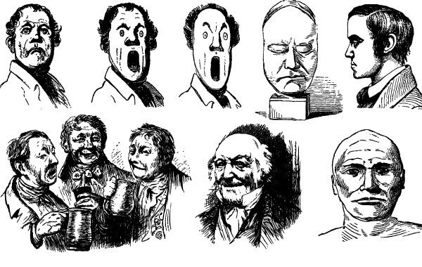 Faces Vector Download Freaky Faces Free Vector Art