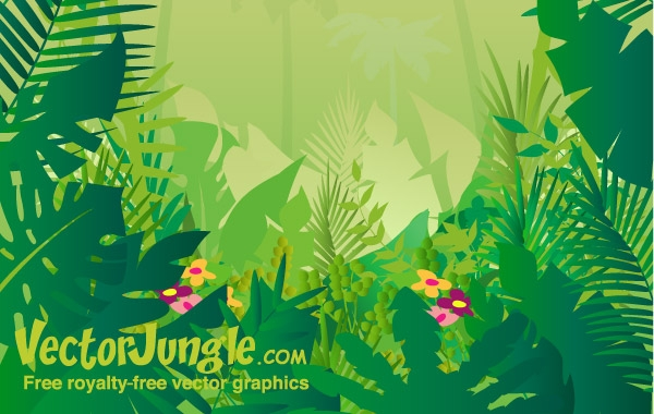 free download of jungle vector graphics and illustrations rh vector me vector jungle leaves vector jungle animals
