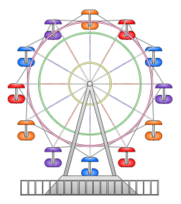 foto de Ferris Wheel free vector Download it now
