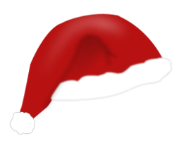 Christmas Hat Vector Png.Christmas Hat Free Vector Download It Now Vector Me