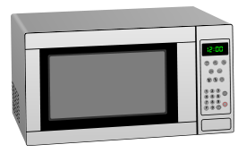 Microwave Oven Free Vector Download It Now