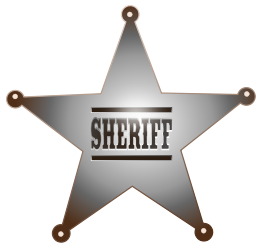 Sheriff star vector free vectors vector elements pronofoot35fo Images