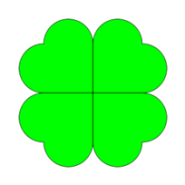 Free Download Of Four Leaf Clover Vector Graphic Vectorme