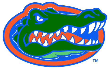 florida gators logo outline. florida gators logo outline w