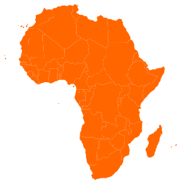 African continent vector free vector graphics  Vectorme