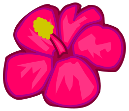 Free download of pink flower cartoon vector graphics and illustrations cleanupflowerflorrosapinkmediaclip artexternalsource mightylinksfo