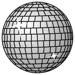 free download of disco ball vector graphic vector me rh vector me disco ball vector image disco ball vector free