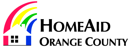 Homeaid Orange County Logo Free Logo Design