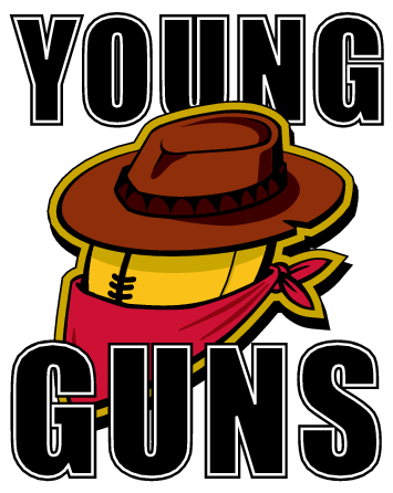 young guns logo free logo design vectorme