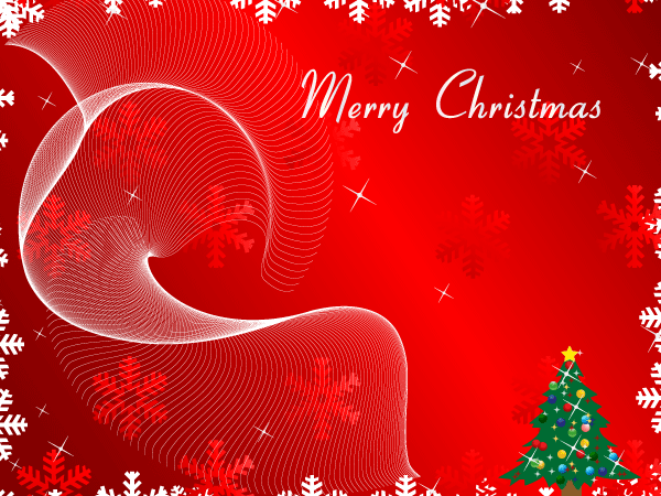 Merry christmas greeting card on red background vector vector free abstractbackgroundsbusinessholiday seasonalornamentselementshuman m4hsunfo Images