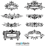 Ornaments,Backgrounds,Banners,Elements,Flowers & Trees