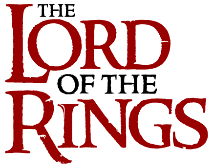 the lord of the rings logo, free logo design - vector