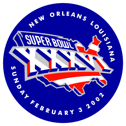 Super Bowl 2002 logo, free logo design - Vector.me