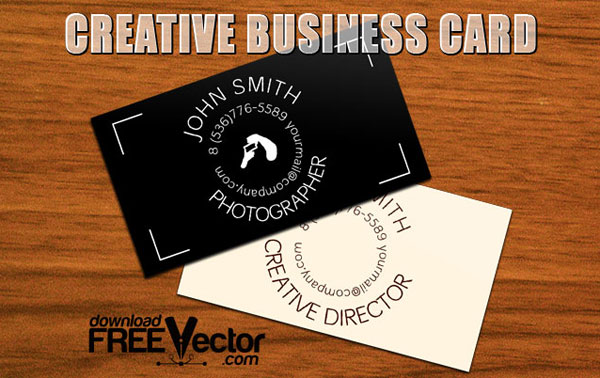 Free Download Of Creative Business Card Template Vector