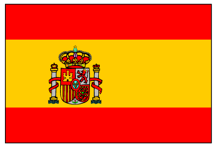 free download of spain flag vector logos rh vector me spain flag logo png spain flag emblem coloring page