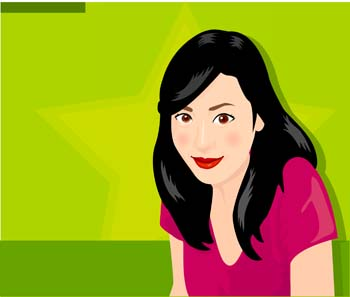 Human face vector free download - photo#35
