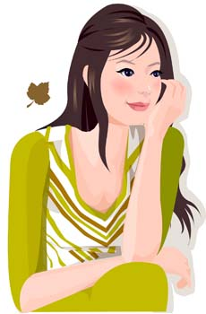 Human face vector free download - photo#24