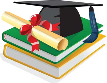 Book and scholar hat vector free vector images vector objects stopboris Images