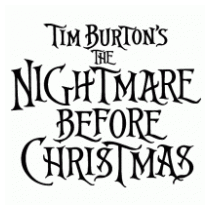 Tim Burton's The Nightmare Before Christmas logo, free vector ...
