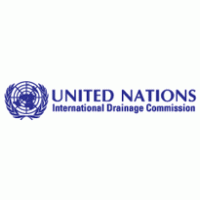 united nations international drainage commission logo