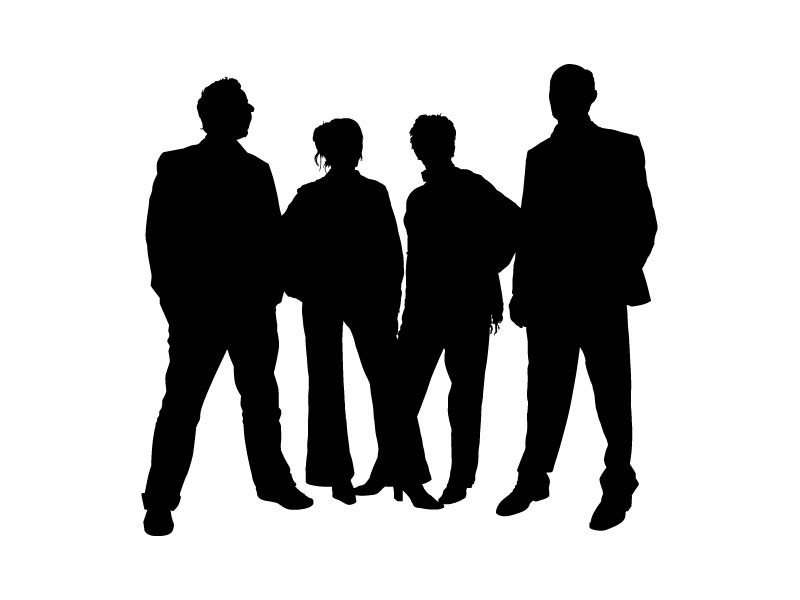 Free download of Family people silhouettes Vector Graphic ...
