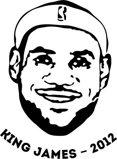 "Lebron ""King"" James free T-Shirt vector file vector, free vectors ..."