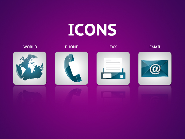 Free Download Of Phone Email Fax Icon Vector Graphics And Illustrations