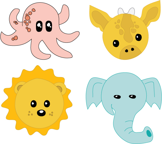 free download of baby animals vector graphic vectorme