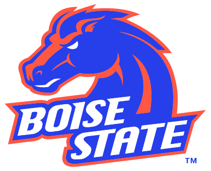 Boise state coloring pages excellent denver broncos logo coloring Denver Broncos Super Bowl Football Coloring Pages Auburn Coloring Pages boise state broncos coloring pages
