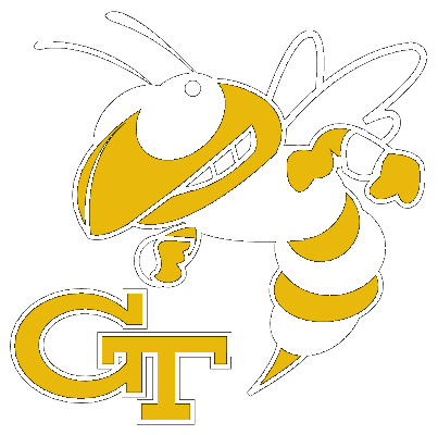 how to draw a georgia tech yellow jacket