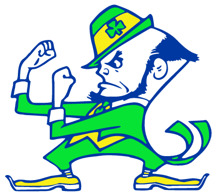 Free Download Of Notre Dame Fighting Irish Vector Logo Vector