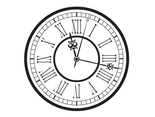 Roman Numeral Clock Face Vector - Download 1,000 Templates (Page 1)