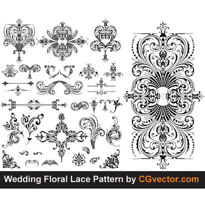 Free Download Of Lace Vector Graphics And Illustrations