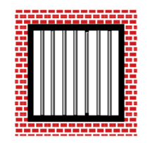 Jail Bars vector, free vector graphics - Vector.me