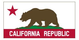 Free Download Of California Banner Clipart B Solid Vector Graphic