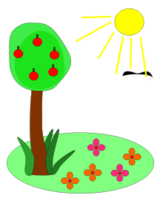 Cartoon,Flowers & Trees,Nature