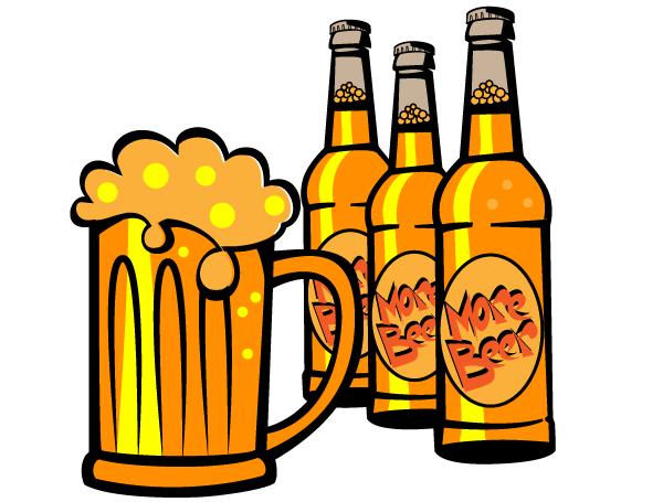 free beer clipart - photo #7